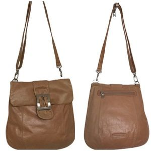 Genuine Slouch Hobo Soft Leather Shoulder Bag UEC